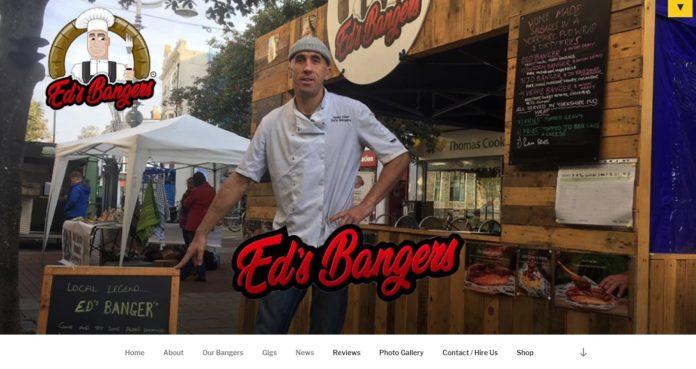 Ed's Bangers Website